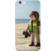 playmobil photographer iPhone Case/Skin