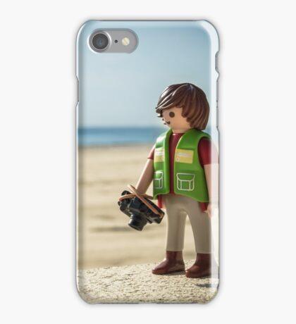 playmobil photographer iPhone Case/Skin