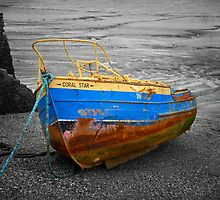Stranded Boat by Fokusstudios