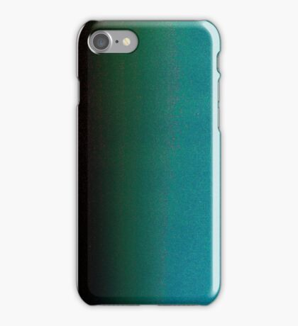 Blue negative  iPhone Case/Skin