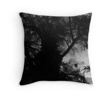 The Night Tree Throw Pillow