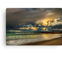 Evening Storm Passing By Canvas Print
