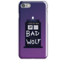 Bad Silence iPhone Case/Skin