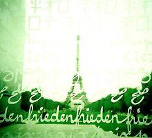 Eiffel depuis la paix by louba