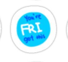 Encouraging Weekly Bullet Journal Stickers Sticker
