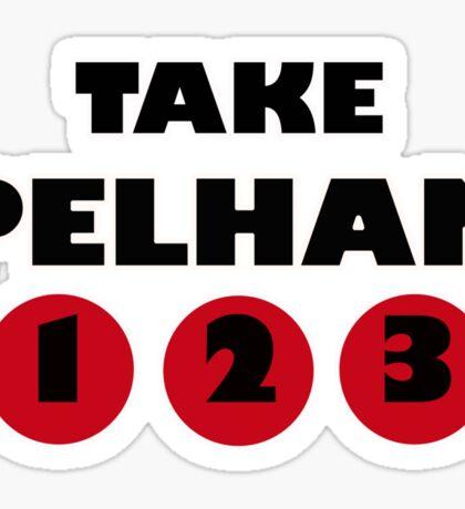 PELHAM 123 Sticker