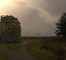 the culloden cairn  by joak
