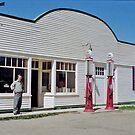 Wostok Hardware Store - Ukrainian Cultural Heritage Village, near Edmonton, Alberta, Canada by Adrian Paul