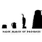 Dalek March of Progress by ToneCartoons