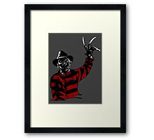 Here's Freddy Framed Print