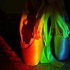 Rainbow En Pointe by Veronica Schultz