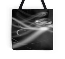 White Ribbon Tote Bag
