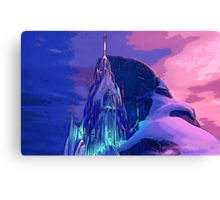 The Ice Palace Canvas Print