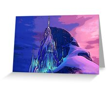 The Ice Palace Greeting Card