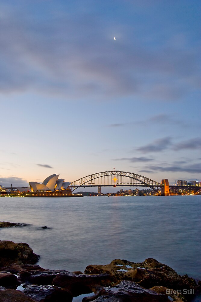 Sydney Harbour by Brett Still