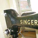 Singer sewing machine #2 by ingrid butler