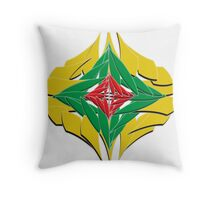 Colorfull Flower Art in a different look Throw Pillow