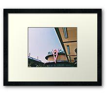 DCA's Flo's Diner  Framed Print