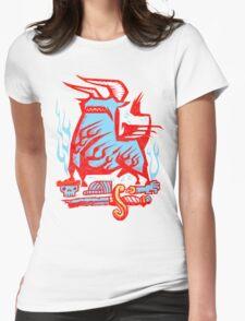 Z Matador Eater! Womens Fitted T-Shirt