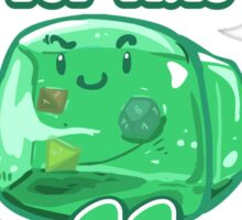 Gelatinous Cube - I don't think you're ready for this jelly  Sticker