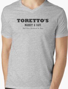 Toretto's Market & Cafe Mens V-Neck T-Shirt