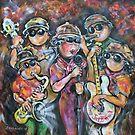 The Gilroy Calfornia  All Star Traveling Submarine Jazz Band  by Reynaldo