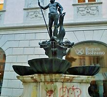 Bolzano Fountain, Italy. by clarebearhh