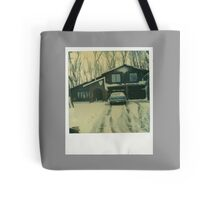 Winter Abode Tote Bag
