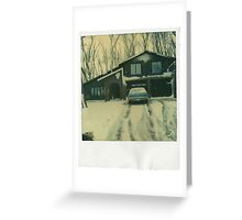 Winter Abode Greeting Card