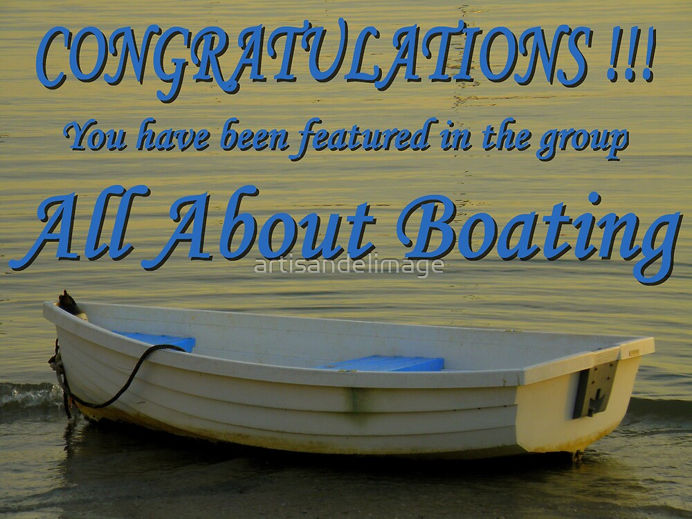 Feature Banner All About Boating by artisandelimage