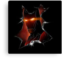 Iron man - The war man Canvas Print