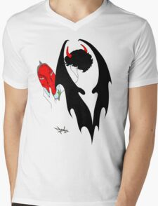 Smauglock Holmes: Reflections of a Consulting Dragon Mens V-Neck T-Shirt