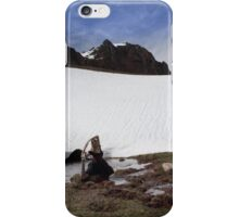 Resting Xana iPhone Case/Skin