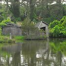 Dilapidated Boathouse by hatterasjack