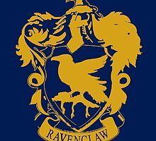 Spray Painted Ravenclaw by Merrickz