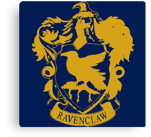 Spray Painted Ravenclaw Canvas Print