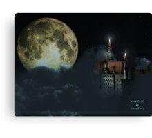 Moon Castle Canvas Print