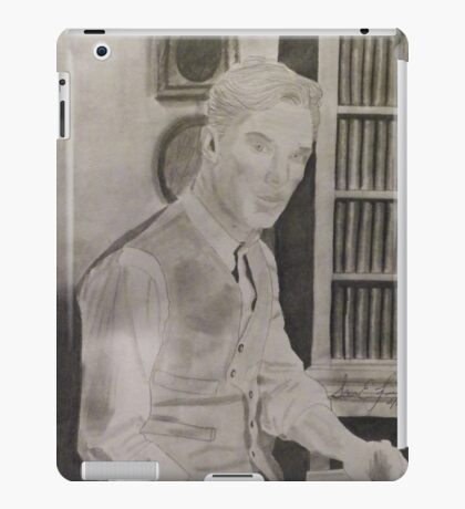 Benedict Cumberbatch Library iPad Case/Skin