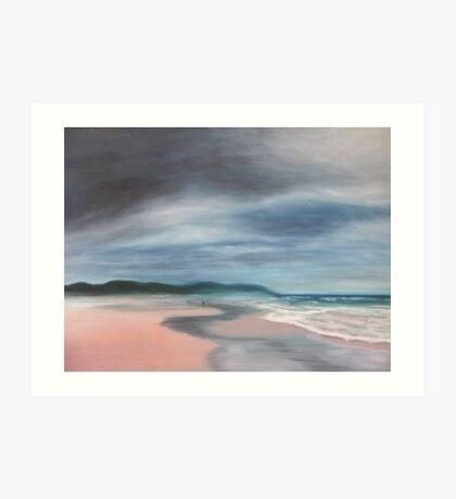 Morning at Seven Mile Beach Art Print