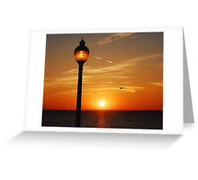 KEEP THE LIGHT BURNING Greeting Card