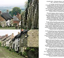 Gold Hill, Shaftesbury England by Monica Vanzant
