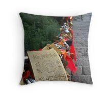 Love Locks Throw Pillow