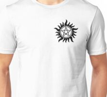 Supernatural anti-possession symbol Unisex T-Shirt
