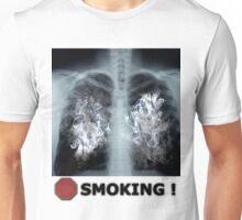 Stop Smoking X-ray Unisex T-Shirt