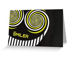 the smiler Greeting Card