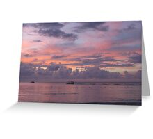 Pastel Sky Greeting Card