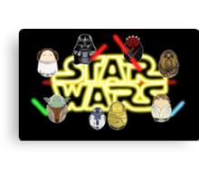 Star Wars Tiggles Canvas Print