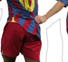 Ronaldinho and Messi Sticker