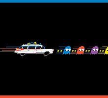 Pac-Man Police by Tony Vazquez