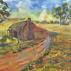Old Miner's Cottage by Diana-Lee Saville